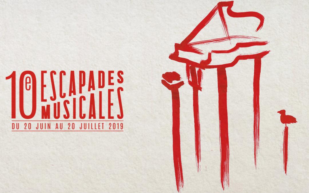 La dixième édition des Escapades Musicales s'annonce !